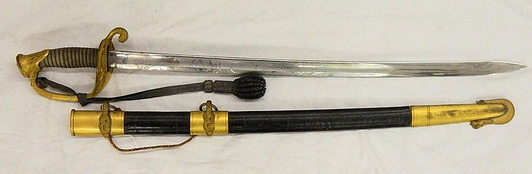 1852 Ames Mfg. Co. Naval Officer's Sword