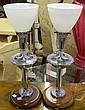 Pair of modern design lamps