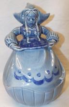Redwing Usa Figural Dutch Girl Cookie Jar