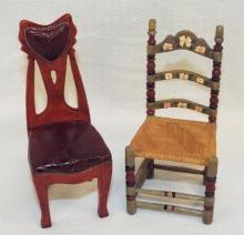 2 Doll House Chairs, Raine