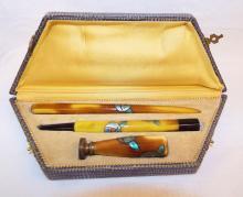 3 Pc. Pen Set With Bakelite Handles