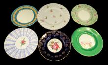 Group Of Misc. Porcelain Plates