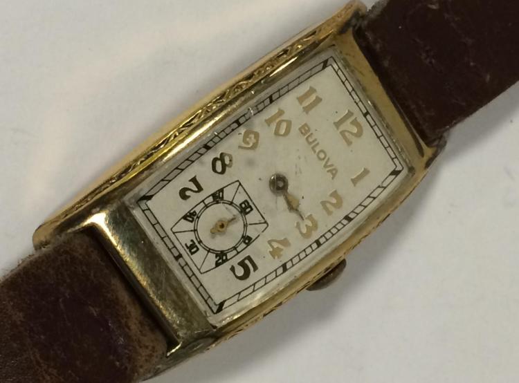 bulova wrist in 10k gold filled