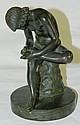 Bronze Statue of Girl