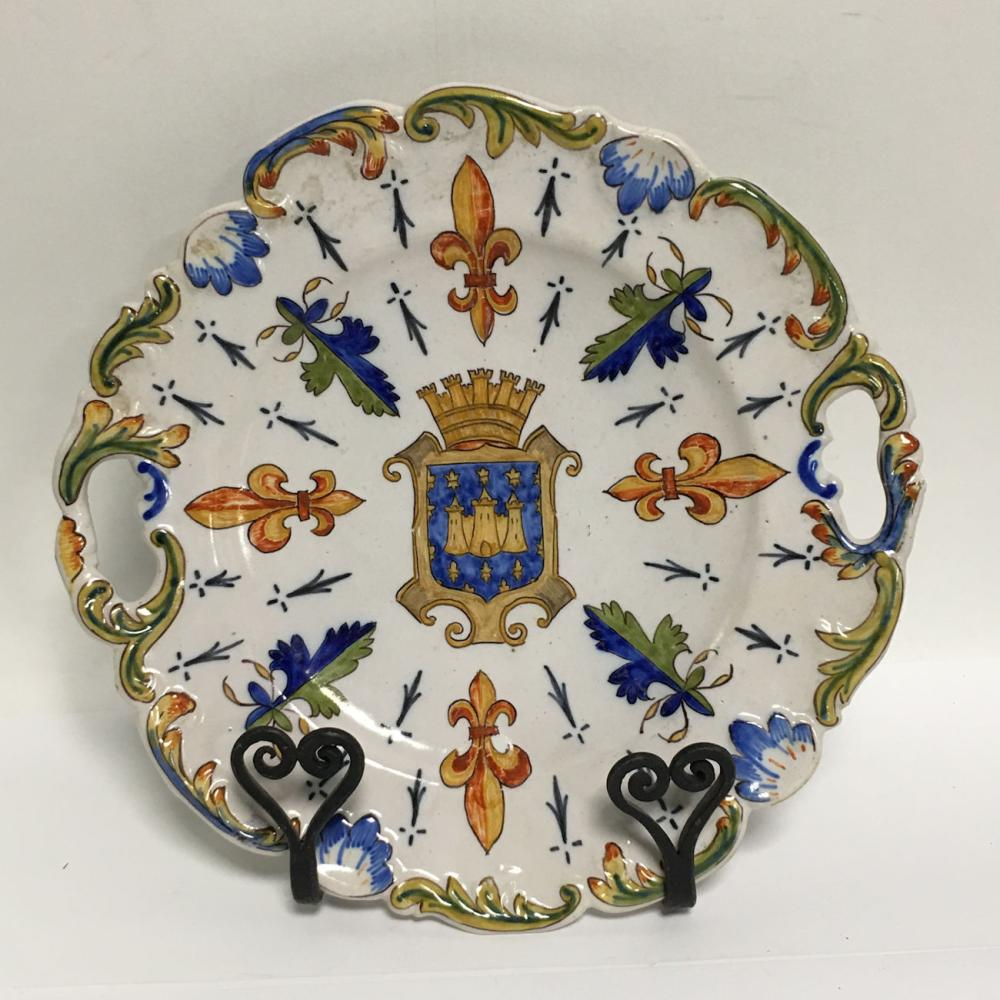 Carcassonne Decorated Tray