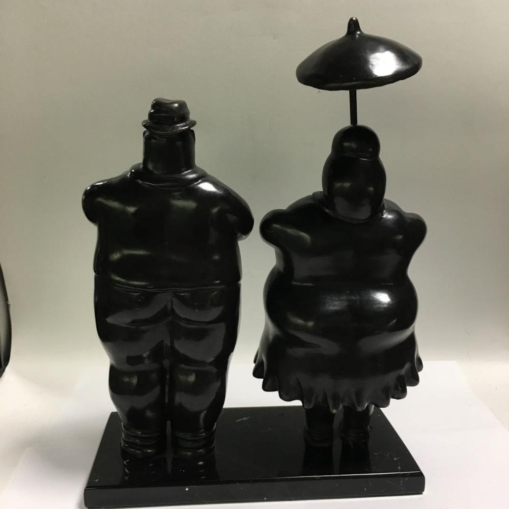 After F. Botero Bronze Sculpture