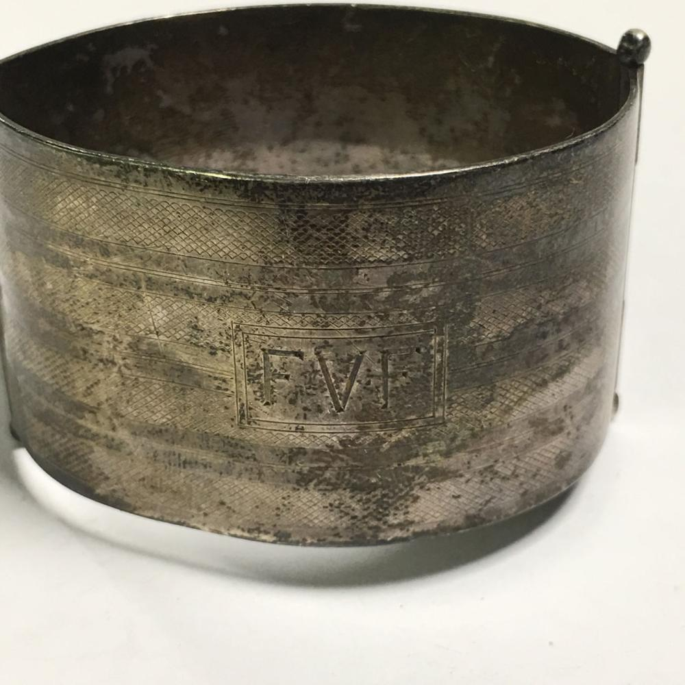 Napier Sterling Silver Cuff Bracelet