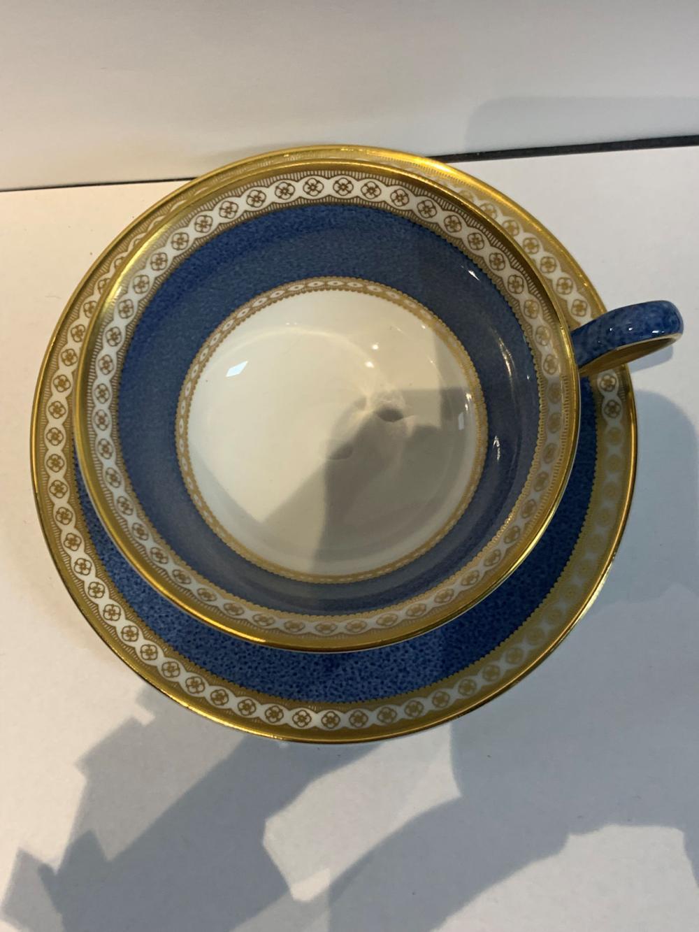 Wedgwood Bone China Cake 8 Cups & 7 Saucers