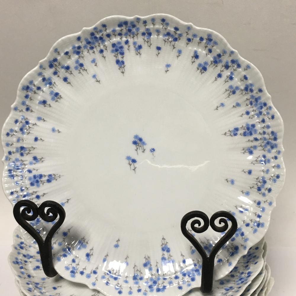 Set Of 11 Tiffany & Co. Limoges France Plates