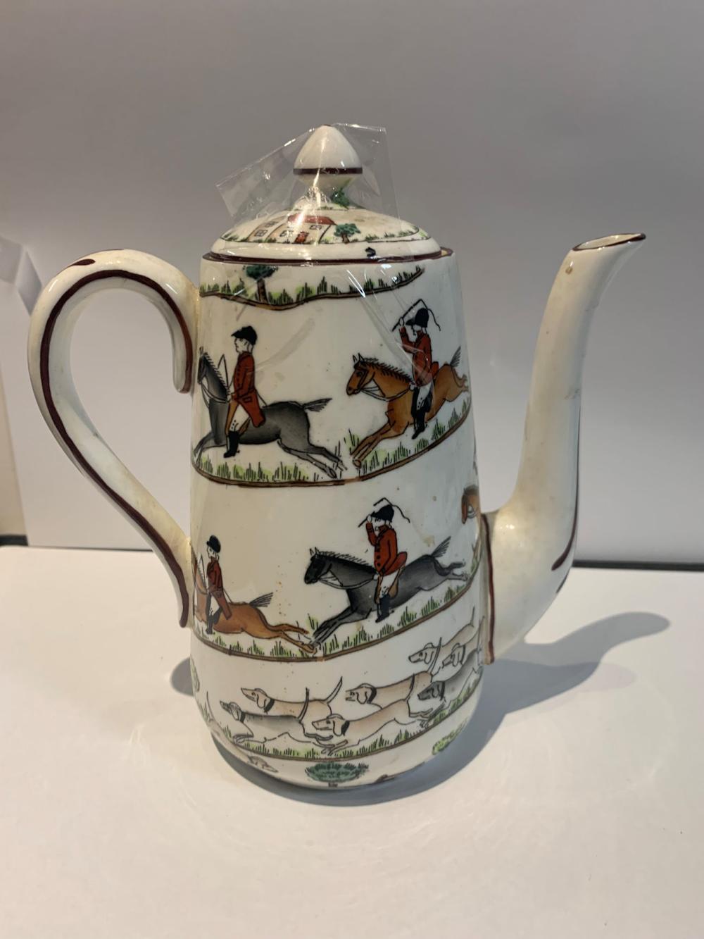 Crown Staffordshire Bone China Tea Pot