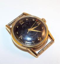 Lord Elgin 10k Rolled Gold Plate Bezel Watch