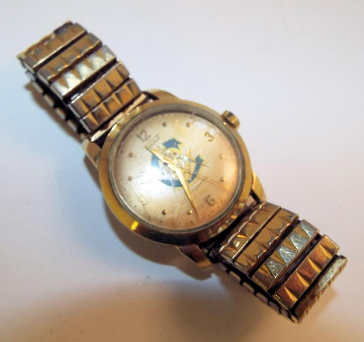 10k gold filled tisot automatic wrist