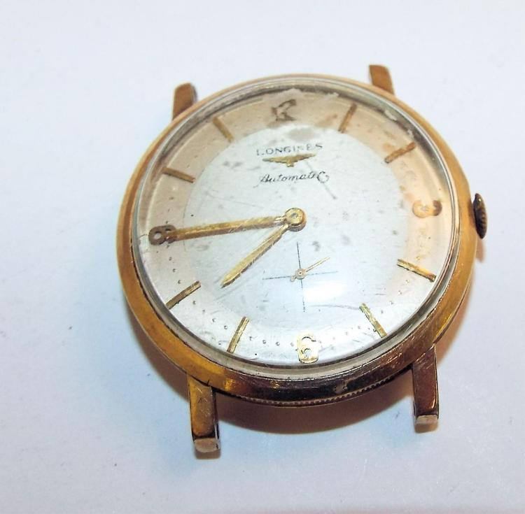 10k gold filled longines automatic
