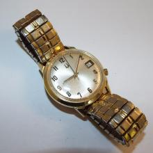 Accutron Bulova Wrist Watch, 14k Gold Case