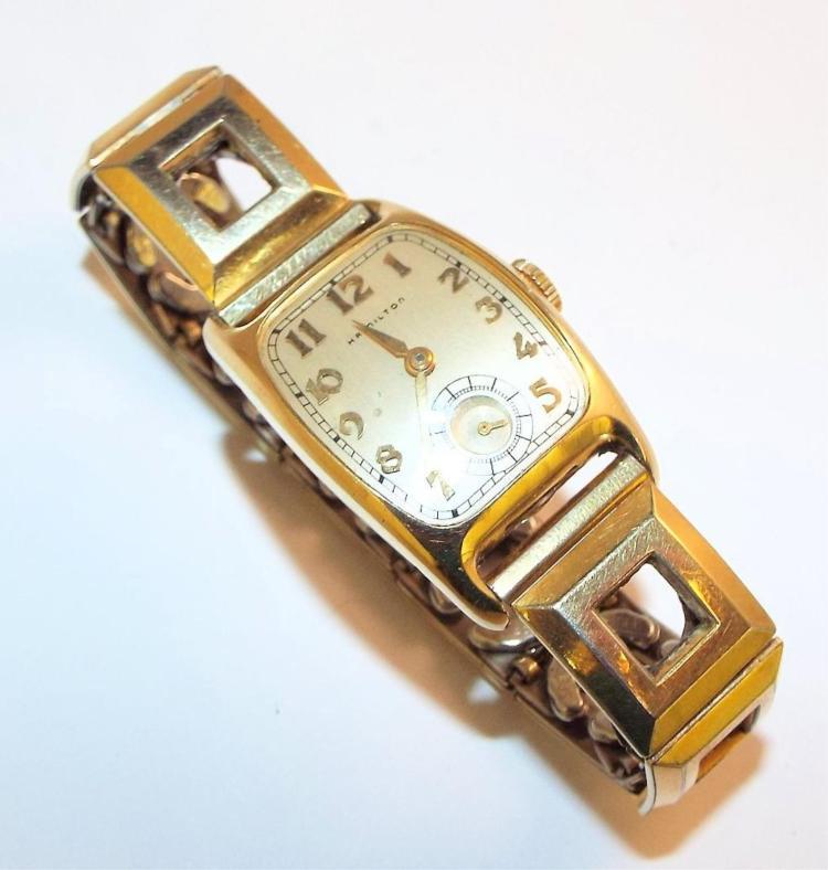 14k gold filled hamilton wrist