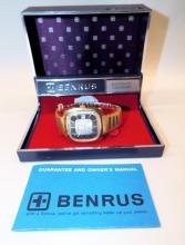 Benrus Automatic Calendar Wrist Watch In Case