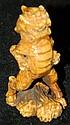 Ivory carved fudog