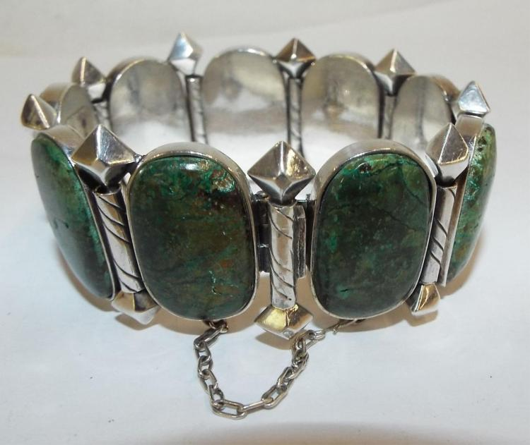 Designed By Hector Aguilar Sterling Bracelet