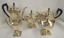 Five Piece Sterling Silver Tea Set