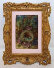 Vincent Clare Oil On Canvas In Gilt Frame