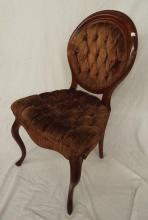 French Upholstered Side Chair