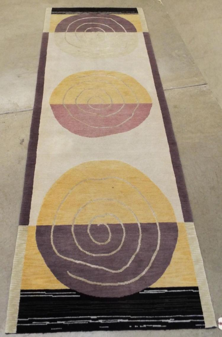 Area Rug With Modern Design