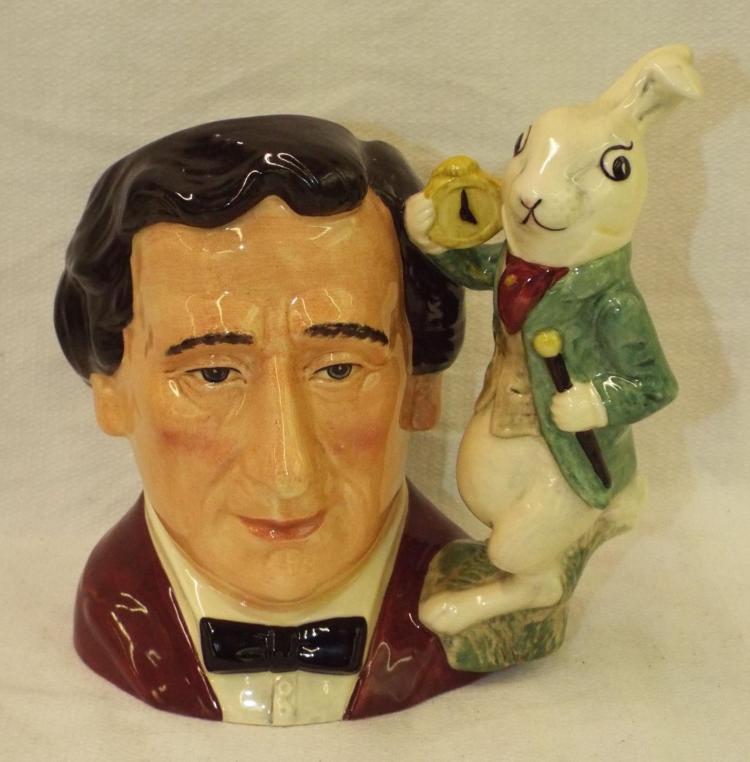 Royal Doulton Character Mug, Lewis Carroll
