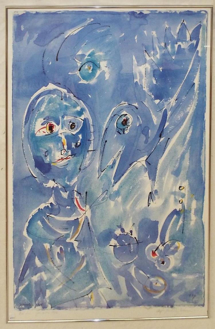 Jerusalem 1985 Print