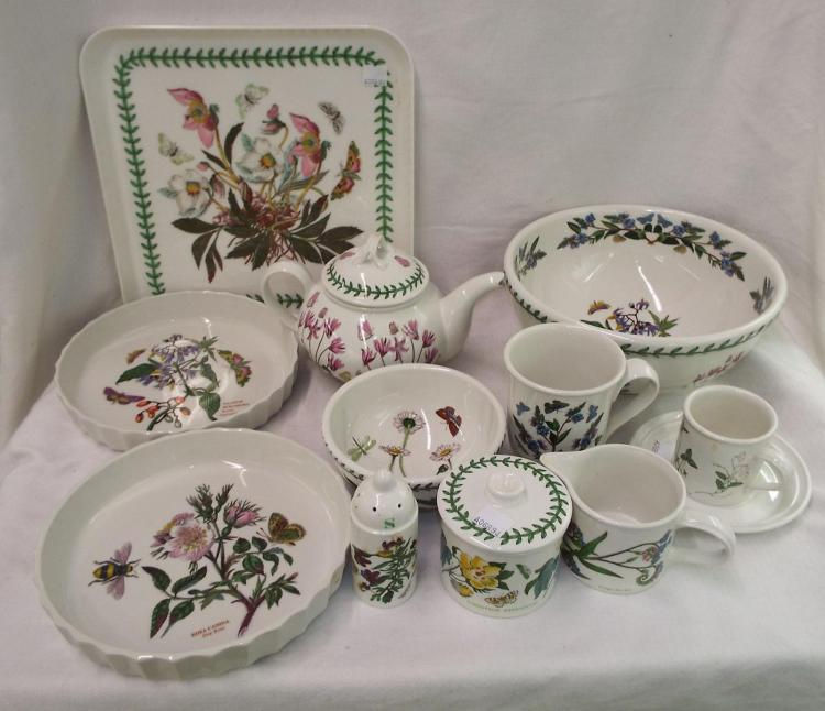 The Botanic Garden Portmeirion Dinnerware Set