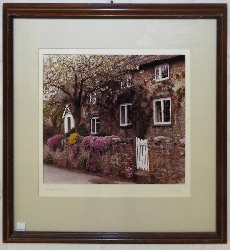 Pencil Signed Alan Klug Photo, Amberley, Sussex