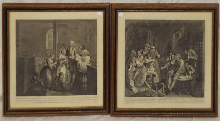 Two Framed Engravings