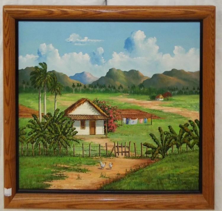 Martha Arredondo Oil On Canvas Landscape