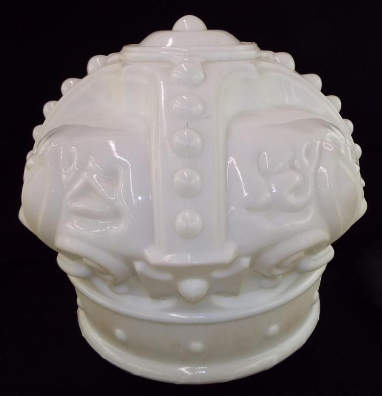White Glass Lamp Shade