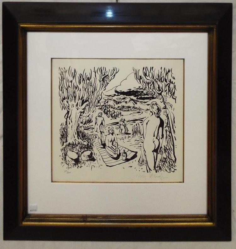 Pencil Signed Nory Steiger Print