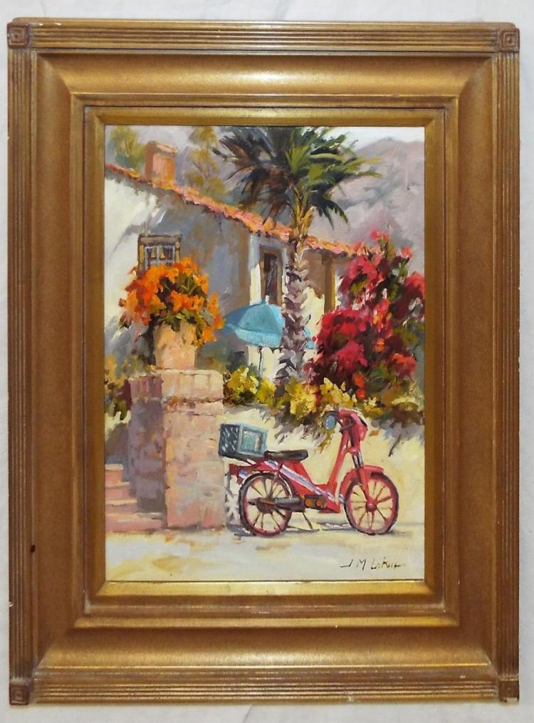 Artist Signed Oil On Canvas, Catalina Charm