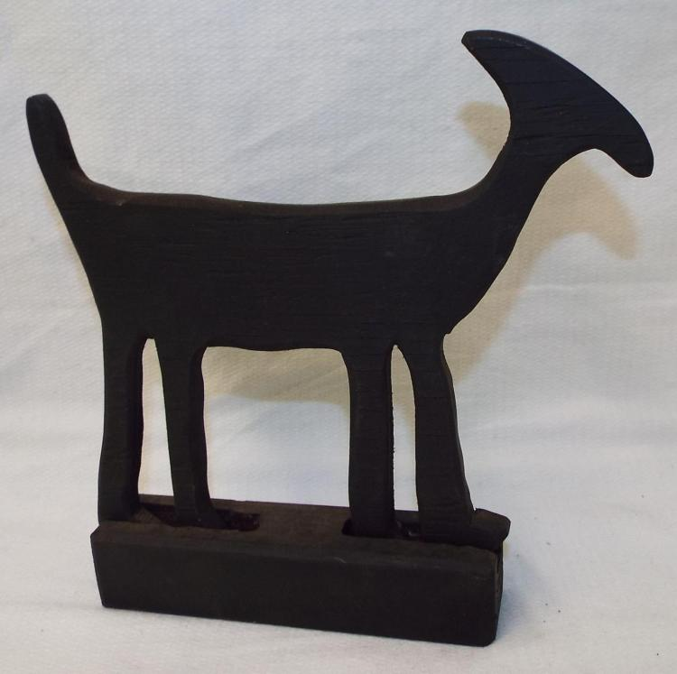 Bob Lee Hand Carved Dog