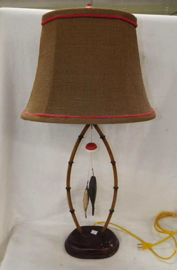 Fishing Theme Table Lamp