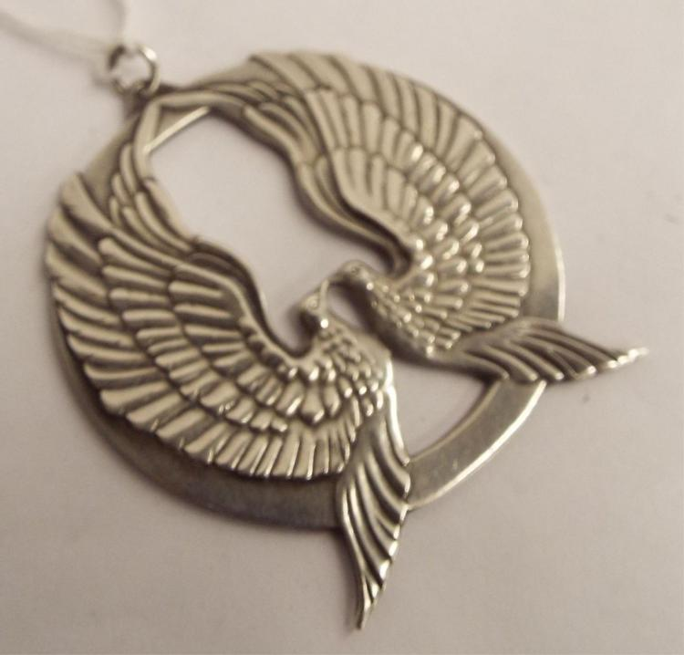 Wallace Sterling Silver 1973 Pendant