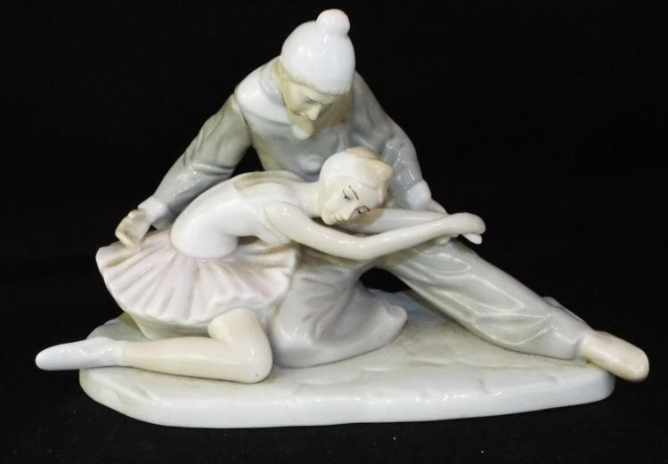 Porcelain Figural Grouping