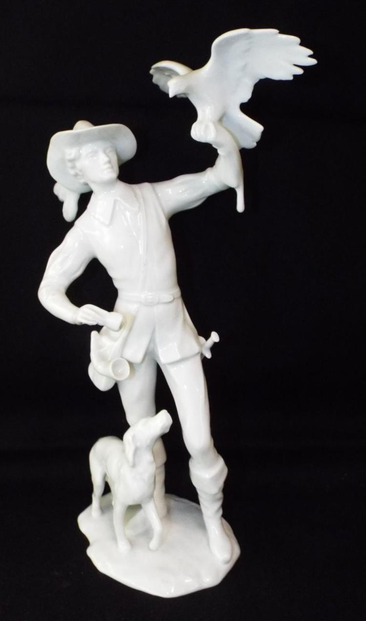 Kaiser W. Germany White Porcelain Figurine