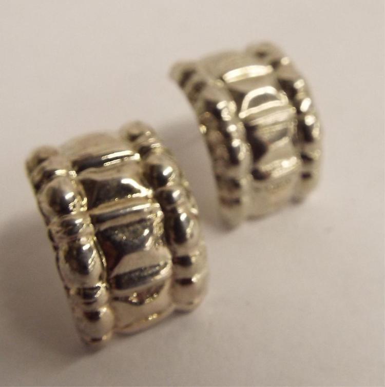 Pair Oof Sterling Silver Earrings