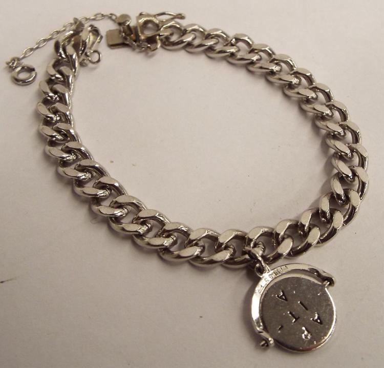 American Sterling Silver Charm Bracelet