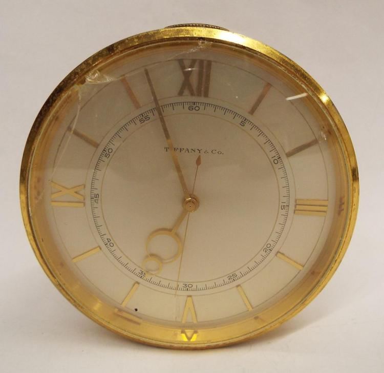 Tiffany & Co. Swiss 15 Jewels Alarm Clock