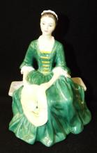 Royal Doulton Figurine, A Lady From Williamsburg