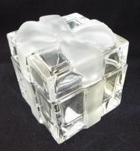 Tiffany & Co. Glass Box