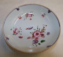 Floral Hand Painted Porcelain Bowl
