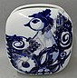 Rosenthal blue & white decorated vase