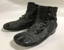 Pair Of Victorian Shoes