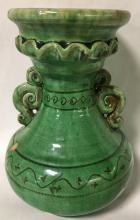 Signed Latvian Art Pottery Vase