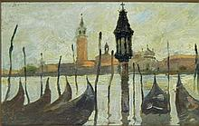 Lewis Palmer Skidmore Oil on Board
